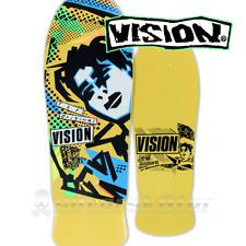 "Vision Skateboards Mark Gonzales OG Yellow Skateboard Deck 10"" Reissue Limited!"