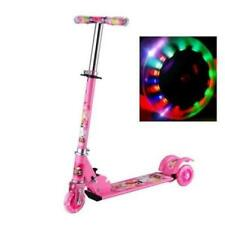 Kinderroller Trottinette kinderScooter mit LED Trettroller Stuntscooter ...