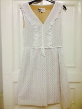 Boutique By Jaeger Lace Frill Shift Dress, Size 6