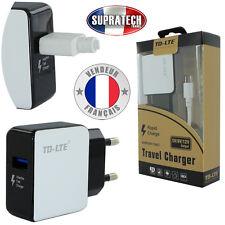 Chargeur Secteur Blanc Rapide Haute-Performance Micro Usb pour tous Smartphones