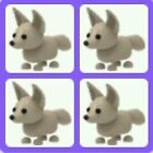 SALE - ROBLOX ADOPT ME PETS- 4 X FENNEC FOX. FOR YOU TO MAKE A NEON