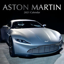 Aston Martin - 2021 Wall Calendar - Brand New - 22306