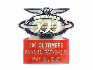 2000 Indianapolis 500 Old Timers Bar-B-Que Event Collector Lapel Pin