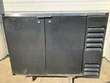 Beverage Air 2 Door Bar Back Beer Cooler Refrigerator