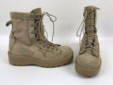 Wellco Desert tan Combat Boots Size 8.5 R 267 / 96 Shoes