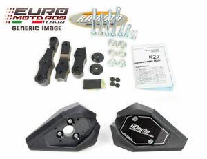 Honda CBR 125 R 2011-2016 RD Moto Crash Frame Sliders Black New H34S-SL01-K