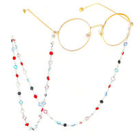 Glasses Neck Crystal Chain Strap Spectacle Eyeglasses Sunglasses Cord Holder
