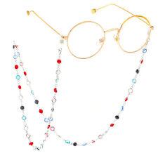 Glasses Neck Crystal Chain Strap Spectacle Eyeglasses Sunglasses Cord Holder