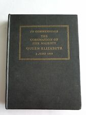 The New Testament to Commemorate Coronation of Her Majesty Queen Elizabeth II