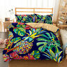 3D Pineapple Leaf Duvet Quilts Cover Bedding Set Comforter Cover PillowCase
