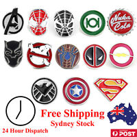 Superhero Brooch Pins - Marvel Avengers - Lapel Button Badge - Cosplay Birthday
