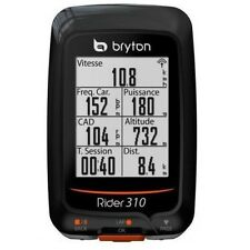Bryton Cycling Computer Rider 310 GPS Odometer With Mount Bike Bicycle