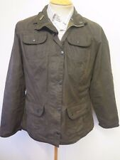 Ladies Barbour L1091 Ladies Utility Jacket Waxed Cotton UK 16 Euro 42 in Green