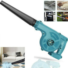 Blue Cordless Leaf Dust Blower Vacuum Air Blowing Power Tool For Makita 18V