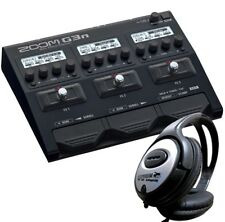 Zoom G3n Multi Effect Unit +Headphones