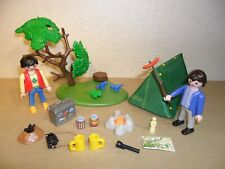 PLAYMOBIL CAMPERS WITH TENT (Camping Accessories)