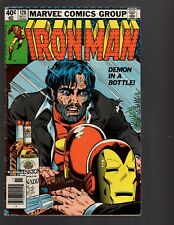 Iron Man 128 Demon In A Bottle Marks Jewelers Variation