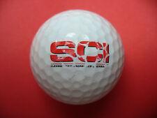 Pelota de golf con logo-Sci-golf logotipo Ball como talismán recuerdo regalo......