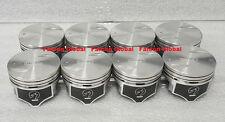 "Chevy 7.4/454 Speed Pro Hypereutectic Coated Skirt Flat Top Pistons Set/8 +.030"""