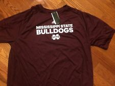 NWT! MISSISSIPPI STATE BULLDOGS ADIDAS S/S Adult Small Shirt