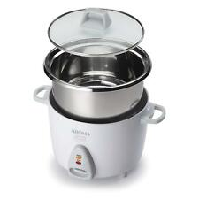 Aroma Housewares ARC-757SG 14 Cup Rice Cooker & Steamer - White