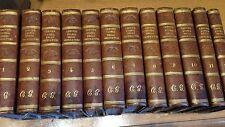 1835 CREVIER-STORIA DEGLI IMPERATORI ROMANI-34 TOMI IN 12 VOLUMI-VEDI FOTO