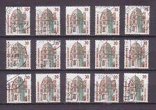 15 x Mi 1339 , Sehenswürdigkeiten: Schloss Celle