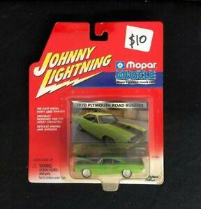 1970 Plymouth Road Runner Johnny Lightning Mopar Muscle Green 1/64