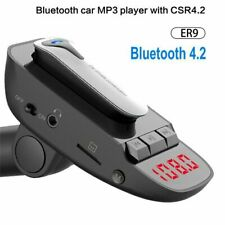 Car Bluetooth FM Transmitter Broadcast Aux MP3 Player Kit Radio Headset Handfree