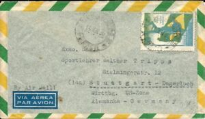 BRAZIL 1950 FOOTBALL SOCCER WORLD CUP CHAMPIONSHIP C79 on Circulated Cover