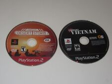 Conflict Based Games - PlayStation 2 Ps2 Lot of 2 - Disc Only