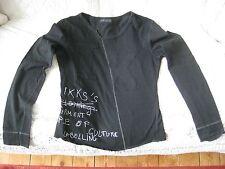 T-shirt IKKS taille 38 manche longue noir