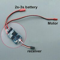 Two-way 5A Brushed Motor ESC Speed Controller 2S-3S for RC Crawler Cars & Boats