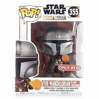 Funko Pop! Bobble Head Figure #355 Star Wars Mandalorian Flame TARGET EXCLUSIVE