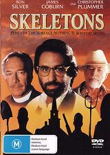 SKELETONS Ron Silver / James Coburn / Christopher Plummer DVD R4 - PAL - New