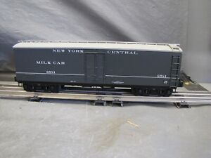 Lionel O Scale New York Central Milk Car #6-17349
