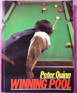 WINNING POOL by Peter Quinn OOP PB BOOK 1986 Comprehensive guide to help improve