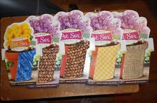"kimco 1-4""and 4-6"" flower pot sox strechable fabric covers for pots"
