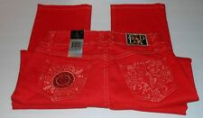 Baby Phat Girlz Embellished Denim Jeans Ginger Sixteen (16) NWT