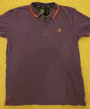 DISSIDENT purple polo shirt. Size M. In very good condition.