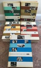 VTG Grolier Encyclopedia Year Book collection 1972 1973 1974 1975 1976