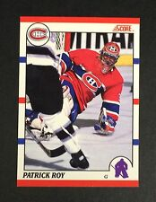 Rare Patrick Roy 1990-91 Score Canadian Hockey Promo Sample Card Nm-Mt+ *8