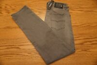 NWT MEN'S DIESEL JEANS Multiple Sizes Buster Reg Slim-Tapered Stretch Gray $198
