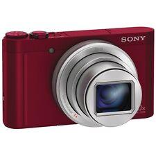 Sony Cyber-shot DSC-WX500 Digital Camera - Red