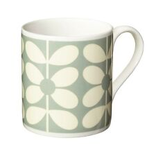 Orla Kiely Bone China Mug - 60's Stem Duck Egg Blue