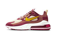 New Nike Air Max 270 React in Noble Red/Dark Sulfur Colour Size US 10