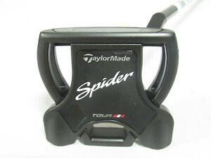 "Mint RH Taylormade Spider Tour Black T-Line 35"" Putter"