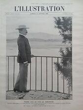 L' ILLUSTRATION 1908 N 3391 M. PIERRE LOTI AU PAYS DE RAMUNTCHO
