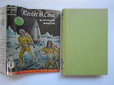 Rocket To Luna, Richard Marsten, Alex Schomburg, Winston, DJ, 1st Edition, 1953