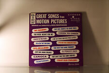 HUGO MONTENEGRO - GREAT SONGS FROM MOTION PICTURES *BUY 1 LP GET 1 LP FREE* Z